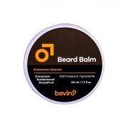 Be-Viro Men´s Only Beard Balm cera per la barba 50 ml tonalità Grapefruit, Cinnamon, Sandal Wood uomo