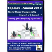 Topalov - Anand 2010 World Chess Championship - 2 DVD's - Chess Lecture - Volume 32 Chess DVD