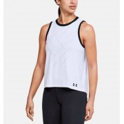 Under Armour Damestanktop UA Step Graphic Live - Womens - White - Grootte: Extra Small
