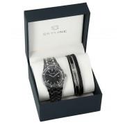 SKYLINE pánská dárková sada hodinky s náramkem 2850-2
