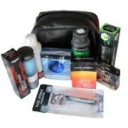 Park Avenue Groomning Travel Kit Travel Shaving Kit & Bag(Black)