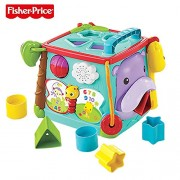 HATCHMATIC Fisher Price Brand Baby Learning Toys Play & Learn Activity Cube Busy Box Educational Toys for Children Kid Birthday Gift: CMY28