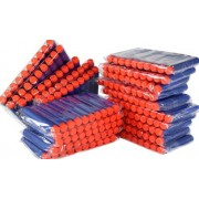 Nerf Bullets 200 Compatible Darts Soft Tip for Elite N Strike Refill Series Pack for Kid Toy Gun Fire Blaster by ZTOZZ (Blue Soft Tip, 200pcs)