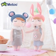 Metoo baby doll creative soft plush toys Angela plush toy doll samll size tall 33cm lovely cute angela