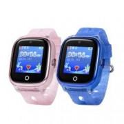 Pachet Promotional 2 Smartwatch-uri Pentru Copii Wonlex KT01 cu Functie Telefon Localizare GPS Camera Pedometru Bonus Cartela Prepaid Vodafone 10