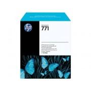 HP Cartucho de Tinta Original HP 771 MantenimientoCH644A para DesignJet Z6200, Z6600 Production Printer, Z6800 Photo Production Printer
