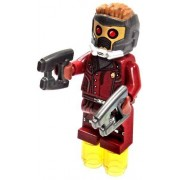 LEGO LEGO Marvel Super Heroes Guardians Of The Galaxy Minifigure Star Lord Closed Jacket