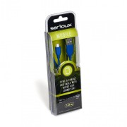 SERIOUX MICROUSB CABLE 1M BLUE 09