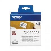 Непрекъсната етикетна лента Brother DK-22225, 38mm, 30.48m