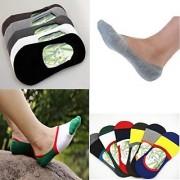 Unisex Stylish Loafer Socks Set Of 2 Pair