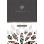 Santa Biblia Rvr 1960 - Letra Grande, Tapa Dura Negra Con Imgenes de Tierra Santa / Spanish Holy Bible Rvr 1960 -Large Print, Hard Cover, Hardcover/Reina Valera Revisada 1960