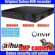 Original ENGLISH firmware Dahua-made NVR 4 SATA Interfaces 200Mps NVR4408/4416/4432 Support Multi-brand network cameras