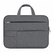 Aeoss 15.6 Man Felt Laptop Sleeve Laptop Sleeve Case Bag for Acer HP Asus Lenovo MacBook Pro Reitina (Dark Grey)