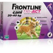 Merial Italia Frontline Tri act soluzione antiparassitario spot on per cani da 20 a 40kg (3 pipette)