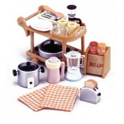 Epoch Sylvanian Families Sylvanian Family Dining Kitchen set Electric Kitchen set KA-407
