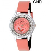 GND GD-010 Pink Dial Analog Watch