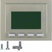 BERKER - 75860073 - K.1/K.5 - info display, inox 25