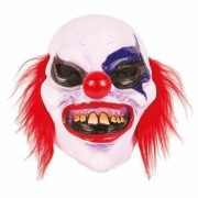 Geen Halloween - Latex horror masker enge clown boldy