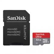 Cartão de Memória microSD Card 32GB Ultra Sandisk | SDXC | Classe 10, UHS-I | SDSDQUA-032G-A46A 1173