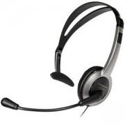 Слушалка с микрофон Panasonic RP-TCA430, 2.5 мм жак, сребрист/черен, 6540004