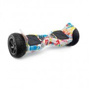 "M3- 8.5"" All Terrain Graffiti Hummer Monster Water Resistant Segway Hoverboard"