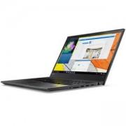 Лаптоп Lenovo Thinkpad T570, Intel Core i5-7200U (2.5GHz up to 3.1GHz, 3MB), 8GB 2133MHz DDR4, 500GB 7200rpm, 15.6 инча, 20H90000BM