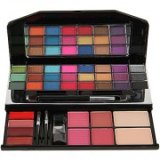 ELEGANCIO Professional Eye Shadow Compact Blusher Lip Gloss Makeup Kit-9914