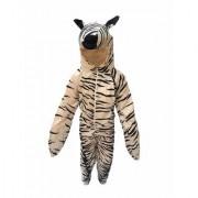 Kaku Fancy Dresses Zebra Wild Animal Costume -Black White for Boys Girls