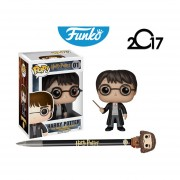Set harry potter pluma rubeus hagrid Funko pop pelicula varita