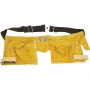Centura de pantaloni cu suport scule si unelte Topex TopTools din piele