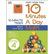 10 Minutes a Day: Math, Fourth Grade: Supports National Council of Teachers Math Standards, Paperback/DK