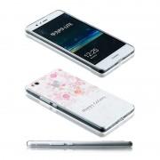 Wigento Silikoncase scen 32 0,3 mm ultra tunn fallet för Huawei P9 Lite ficka cover
