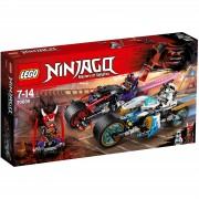 Lego Ninjago: Carrera callejera del jaguar-serpiente (70639)