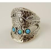Inel argint -102652 opal (MASURI IN STOC ⤵: 53 mm circumferinta sau 16,9 mm diametru interior, Piatra: opal imperial, Categorie: inele)