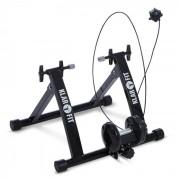 KLARFIT Tourek Vélo Rouleau Home trainer 26/28 pouces 100kg acier – noir
