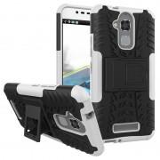 Asus Zenfone 3 Max ZC520TL Anti-Slip Hybrid Case - Black / White