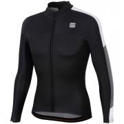 Sportful BodyFit Pro Thermal Jersey - XXL - Black/White