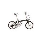 Bicicleta Dobrável Aro 20 Durban Jump 6 Velocidades Preta