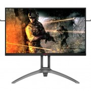 "Monitor gaming AOC AG273QZ, 27"", WQHD, 0.5 ms, 240 Hz, HDMI, DisplayPort, USB, Negru/rosu"