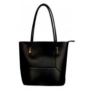 Lyme Black Mini pevná kabelka černá
