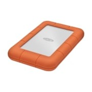 "LaCie Rugged Mini 301558 1 TB Portable Hard Drive - 2.5"" External - Orange, Silver"