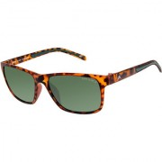 David Blake Green Wayfarer Polarised UV Protected Sunglass