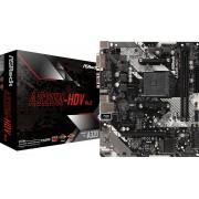 ASRock A320M-HDV R4.0 - Moederbord - Micro-ATX - Socket AM4 - AMD A320 - Gb LAN - VGA, DVI-D, HDMI