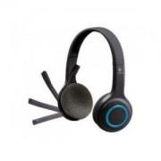Logitech Słuchawki z mikrofonem Logitech H600 bezprzewodowe czarne