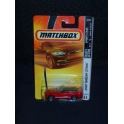 Mattel Matchbox 2007 MBX Sports Cars 1:64 Scale Die Cast Metal Car # 11 - Red Convertible Sport Coupe 2007 Shelby...