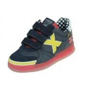Munich G-3 Kid vco - navy,geel - Size: 33