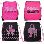 Breast Cancer Awareness Sackpack