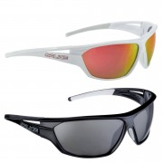 Salice 002 Casual Sunglasses - One Size - White/Red