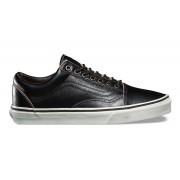 Vans Old Skool All Black Leather Unisex