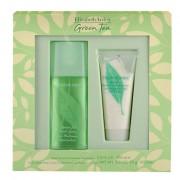 Elizabeth Arden Green Tea confezione regalo Eau de Parfum 100 ml + crema per il corpo Honey Drops 100 ml donna scatola danneggiata